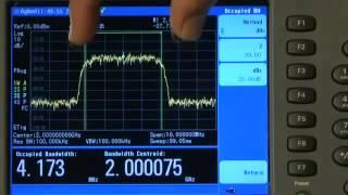 How to Measure a W-CDMA Signal   N9344C, N9343C, N9342C Handheld Spectrum Analyzers   Keysight