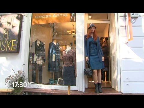 Hamburger 2 Meter Model entwirft Kleidung für große Frauen
