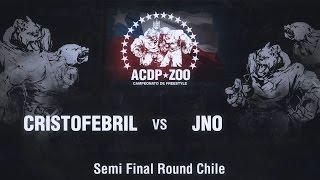 CRISTOFEBRIL vs JNO - Semi Final ACDPZoo Round Santiago de Chile