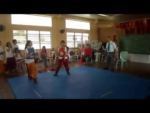 Karatedo sparring