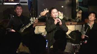 Maria Lourdes performed at STAR EYES w/ the Wonderful Band Members from Nagoya!