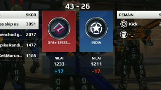 Mc5 sb vs INDIA (thanks for 200 subs)carry 18-4❤️