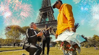 Marriage Proposal REJECTION at the Eiffel Tower