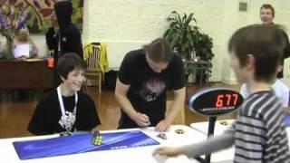Rubik's cube former official world record 6.77 seconds Feliks Zemdegs