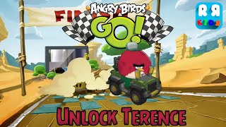 Angry Birds GO! (By Rovio Entertainment Ltd) - Unlock Terence - Gameplay Video