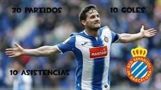 Pablo Piatti ● Goals ● Assists ● RCD Espanyol ● 2016/2017  | Pasion por el futbol