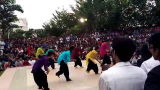 dance Most Beautiful Dance by Indian Girls in VIT University   Flash Mob