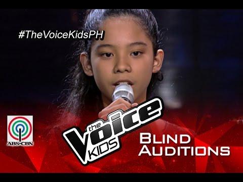 "The Voice Kids Philippines 2015 Blind Audition: ""Chandelier"" by Sassa"