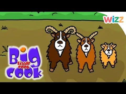 Big Cook Little Cook - Three Billy Goats Gruff