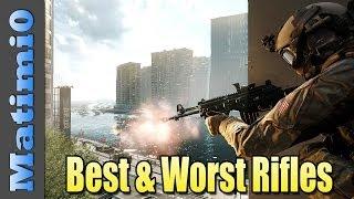 Best & Worst Assault Weapons - Battlefield 4