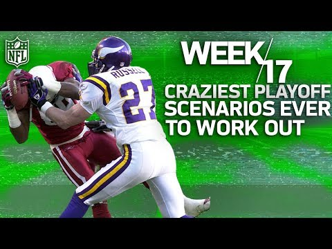 The Craziest Week 17 Playoff Clinchers in NFL History NFL Vault Stories
