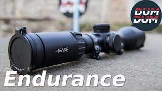 Hawke Endurance 1,5-6x44 test optike (riflescope test, eng subs)