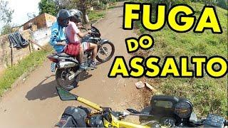 Assalto a mão armada   Fuga dos BANDIDO de FALCON deu RUIM