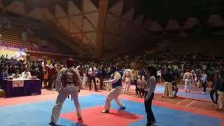 Above87 kg.senior Tkd fight abhimanyu v/s services