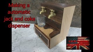 making a automatic jack and coke dispenser