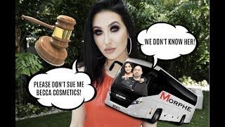 MORPHE THROWS JACLYN HILL UNDER THE BUS IN BECCA COSMETICS LAWSUIT