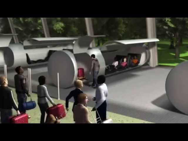 Future Transport: TUBE TRAVEL is REAL!