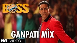 Boss Ganpati Mix Full Song | Boss | Akshay Kumar | Meet Bros Anjjan