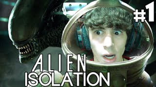 Alien Isolation - Parte 1 - UN'AVVENTURA HORROR FANTASTICA!