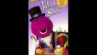 Opening & Closing To Barney's Talent Show 1996 VHS