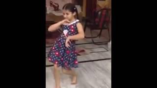 Dance of a punjabi girl