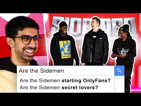 SIDEMEN ANSWER THE INTERNETS WEIRDEST QUESTIONS