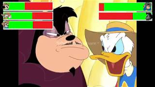 Mickey, Donald, Goofy The Three Musketeers Final Battle with healthbars (400 Subscribers Special)