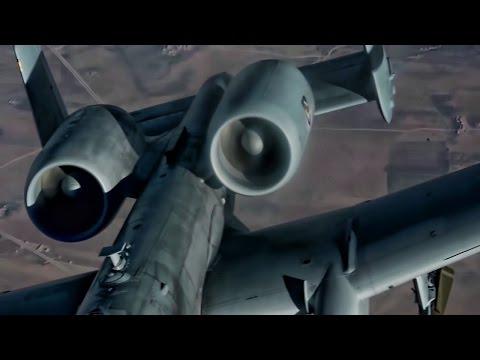 F-16 Falcons & A-10 Thunderbolts Refuel Over Iraq (2017)