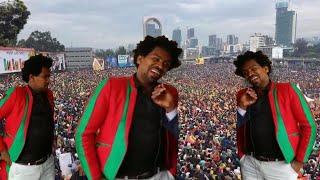Mogoroo Jifar Oromo music on stage Simannaa ABO irratti