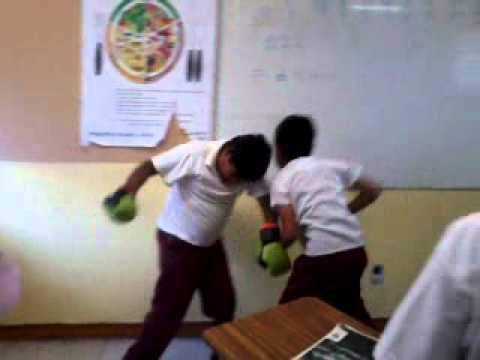 peleas en la escuela