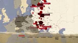 L' ARMEE ROUGE DE 1940 A 1945 (Сarte des grandes batailles) . HD