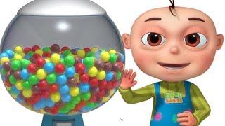Five Little Babies Learning Colors Using Ball Machine (Single)   Zool Babies Fun Songs