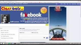 Fakebook Task - How To Use Fakebook