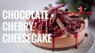 Chocolate Cherry Cheesecake | Everyday Gourmet S7 E44