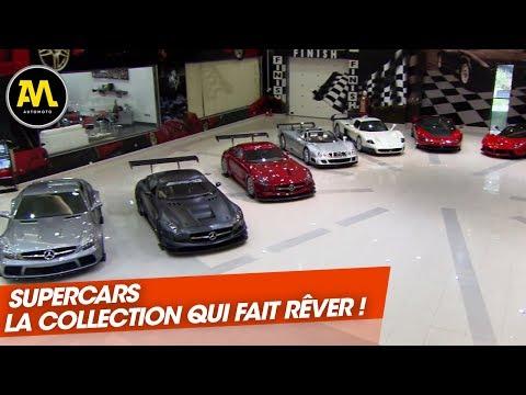 La plus belle collection de supercars au monde