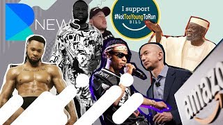 WIZKID FIGHTS IN CLUB, WORLD RICHEST FOR HOURS, NAKED PICS OF FLAVOUR & MR EAZI ON US LATE SHOW
