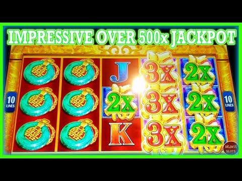 IMPRESSIVE OVER 500x JACKPOT! RED FORTUNE HIGH LIMIT SLOTS ➡️ Deja Vu Slots