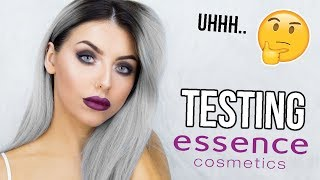 TESTING ESSENCE MAKEUP / FULL FACE OF FIRST IMPRESSIONS!