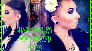 Hair Styles for Shaved Sides