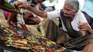 My 105 years Grandma's Fish Fry | World Best roasted fish recipe | Country Foods