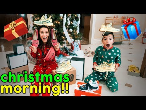 UNWRAPPING PRESENTS ON CHRISTMAS MORNING SHOCKING SURPRISE The Royalty Family