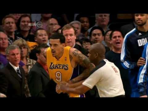 The Battle of Staples Center Dallas Mavericks vs. Los Angeles Lakers 31.03.2011 HD