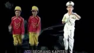 lagu anak anak    aku seorang kapiten dan lirik