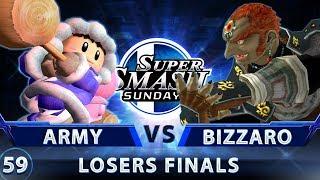 SSS 59 - ARMY (ICs) vs. Bizzaro Flame (Ganon) - SSBM Losers Finals - Smash Melee
