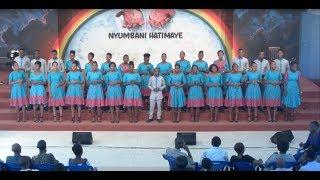 "Mabalozi Ukonga from Tanzania singing ""Ebeneza"""