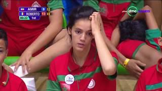 """مباراة """" AMIR"""" لاعب إيران """"VS"""" لاعب المكسيك """"ROBERTO"""" - بطولة العالم لناشئين التايكوندو"""
