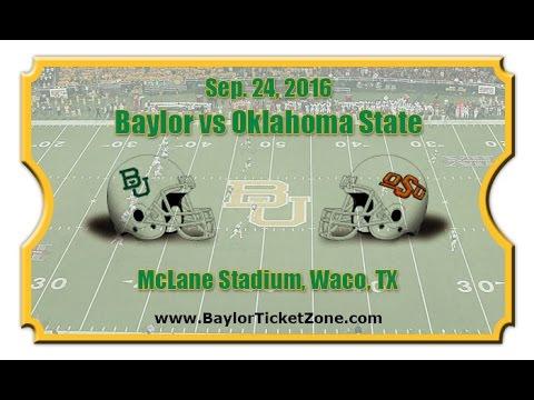 2016-09-24 Oklahoma State at No. 16 Baylor No Huddle