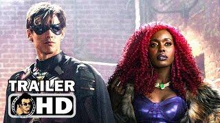 TITANS Official Teaser Trailer #2 - Dick Grayson (2018) DC Series