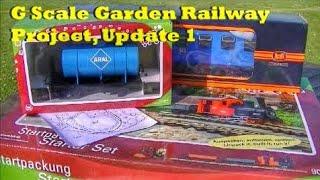 G Scale Garden Railway Project, Update 1