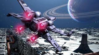 Star Wars Battlefront Death Star DLC Battle Station Gameplay